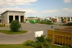 Unser moderner Recycling Hof in Greifswald